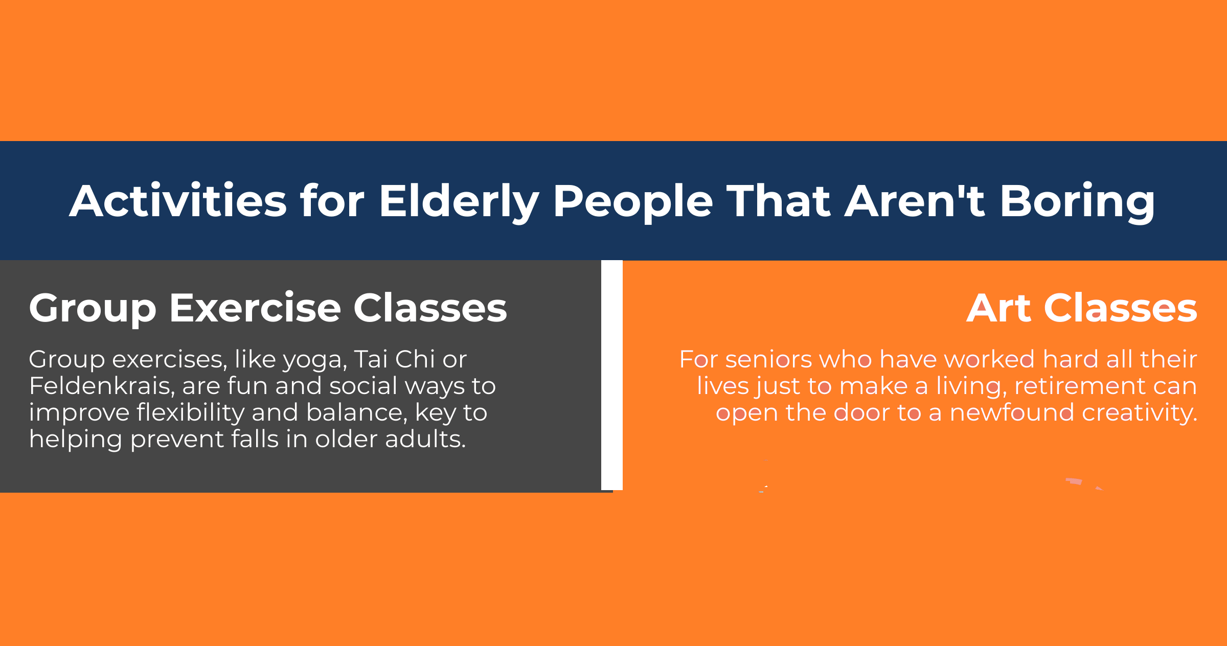 Activities for Elderly People that Aren't Boring [Infographic]